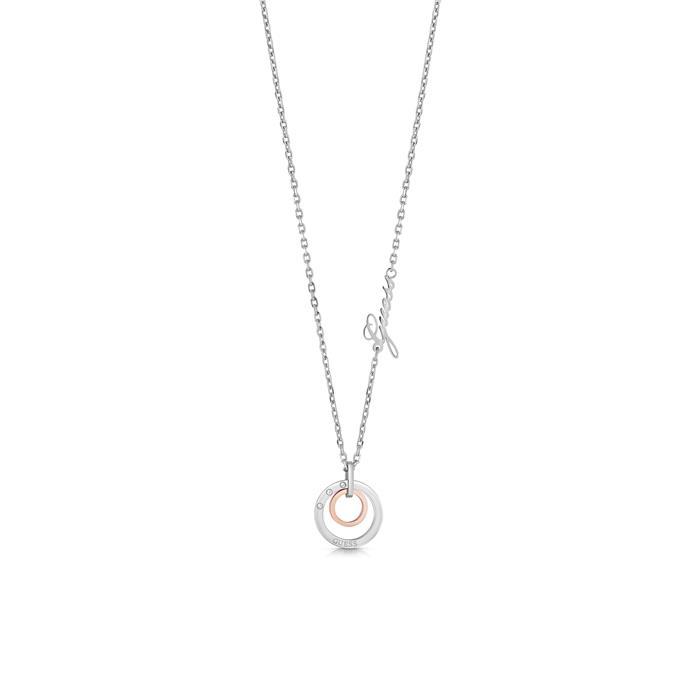 Edelstahlkette Eternal Circles für Damen, rosé