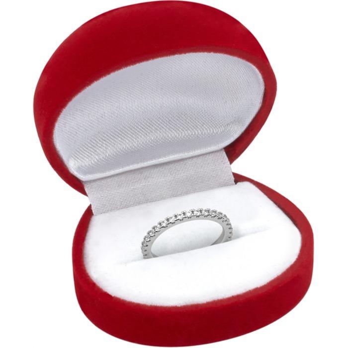 Verlobungsring 925 Silber mit Zirkoniabesatz