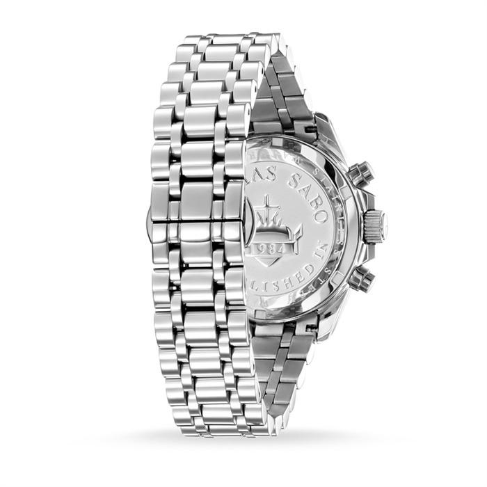 Uhr Divine Chrono für Damen aus Edelstahl