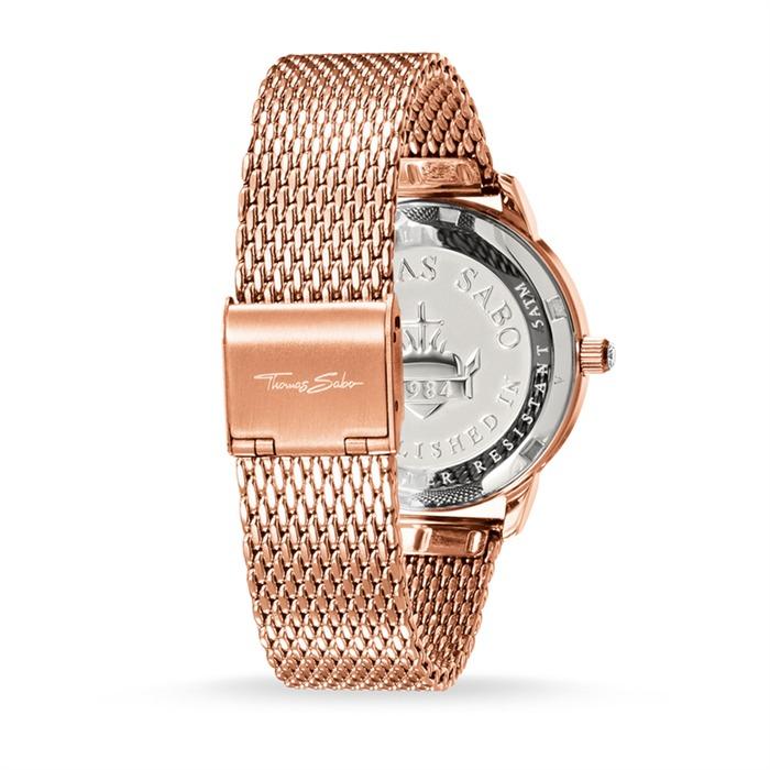 Uhr Glam Spirit für Damen aus Edelstahl rosévergoldet