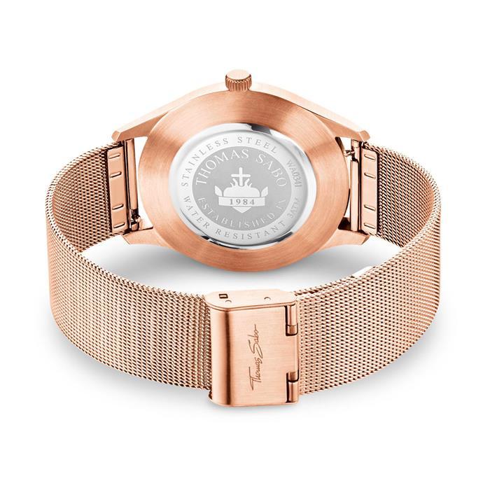 Code TS Uhr roségold für Damen und Herren
