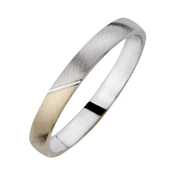 Eheringe mit Diamant Breite 3 mm