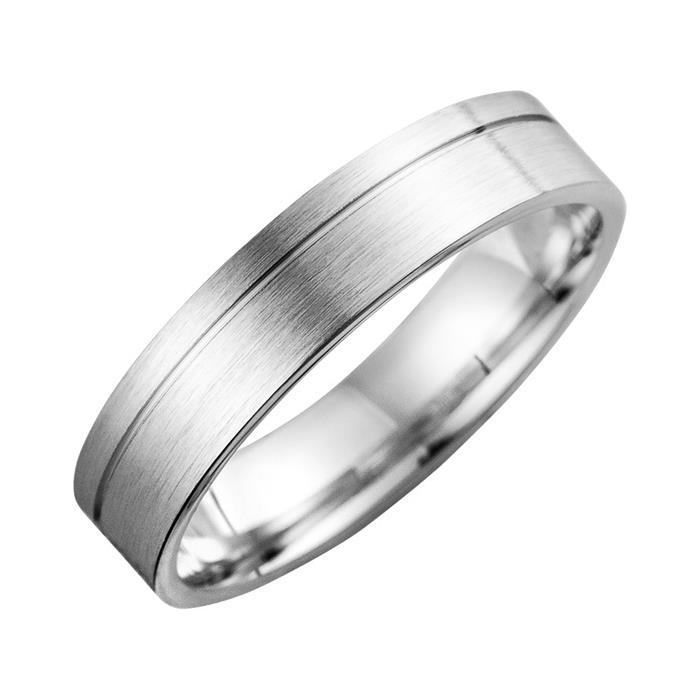 Eheringe mit Diamant Breite 5 mm
