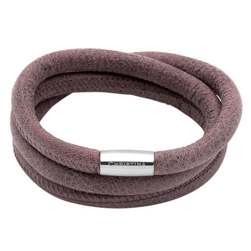 Braunes Charm Armband