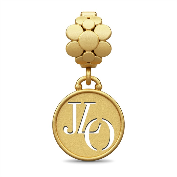 JLO Blossom Drop Gold Dangle