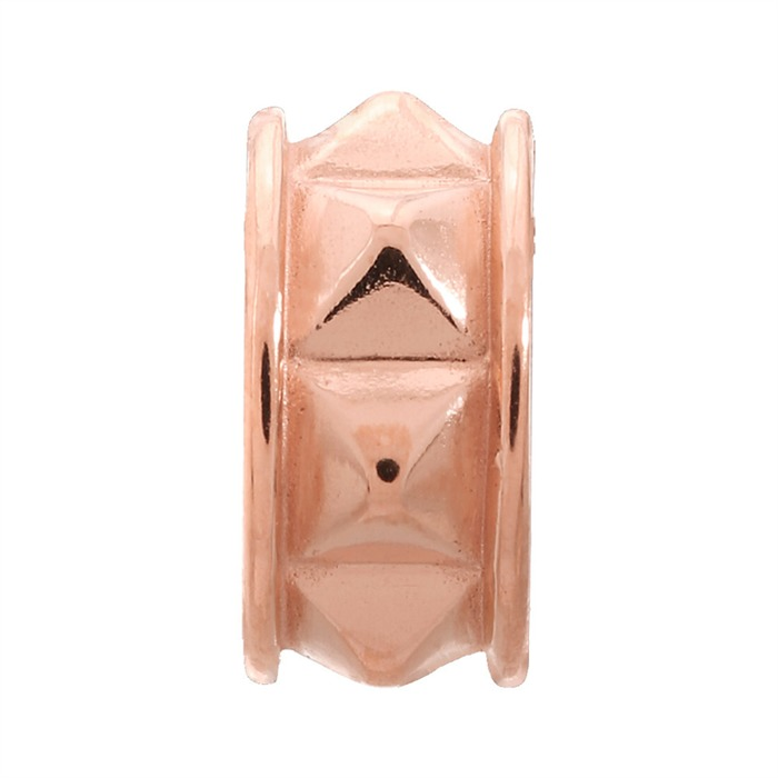 Rising Cubes Rose Gold Charm