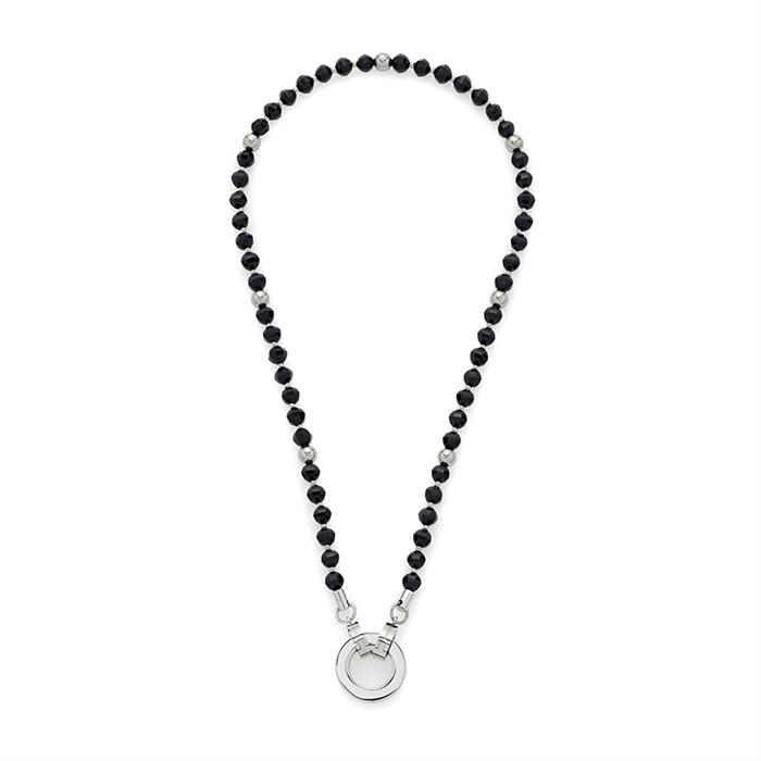 Halskette Schwarz Perla Darlin