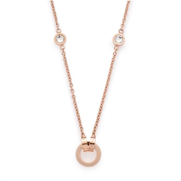 Halskette rosegold Essenza Dar