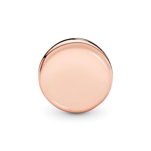 ROSE Reflexions Clip für Damen mit Zirkonia gravierbar
