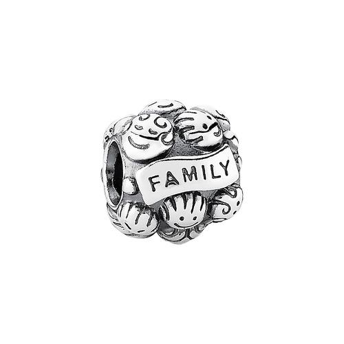 925 Silbercharm Familie