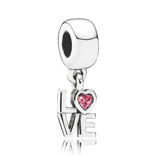 Pandora Silber Dangle 791253CZS LOVE
