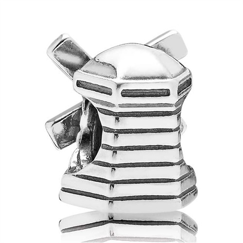 925er Silber Element Windmühle