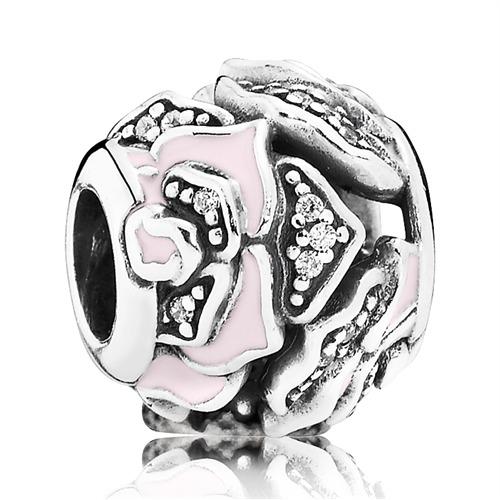 Charm Rosen Pandora 925er Silber Zirkonia 79152...