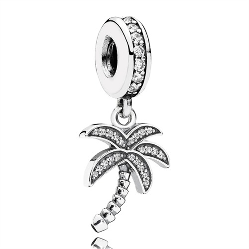 Pandora-Dangle Palme 925er Silber Zirkonia 791540CZ
