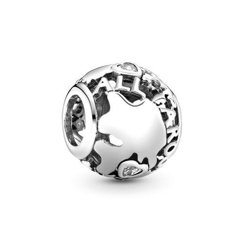 Charm Around The World 925er Silber