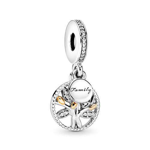 Dangle Family Stammbaum Pandora 925er Silber 791728CZ