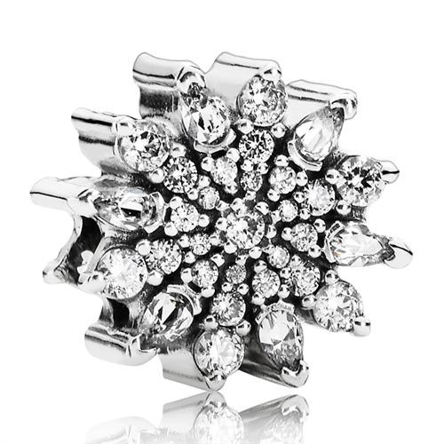 Charm Eiskristall Zirkonia 925 Silber