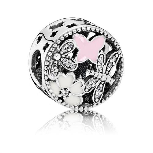 Schmetterlings-Charm 925er Silber