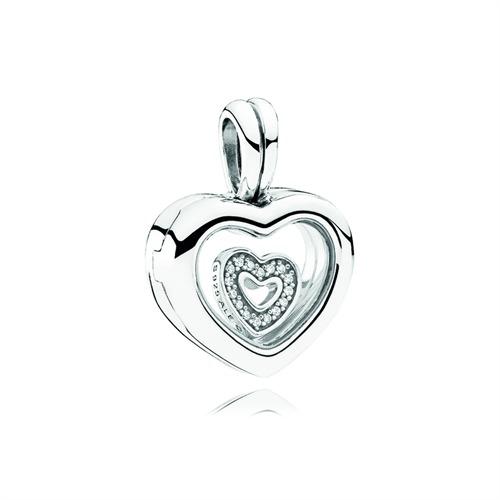 Herz Anhänger 925er Silber