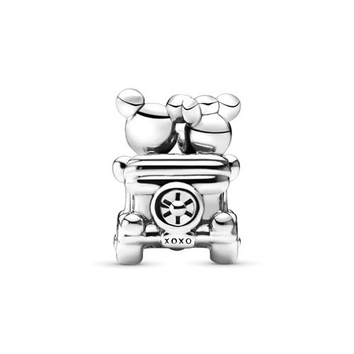 Disney Charm Mickey and Minnie Vintage Car 925er Silber