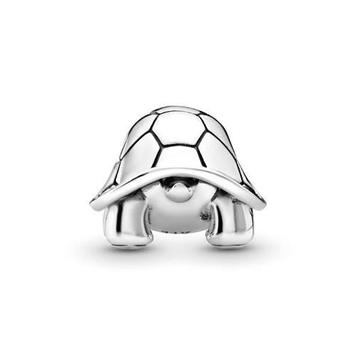 Charm Schildkröte aus Sterlingsilber mit Zirkonia