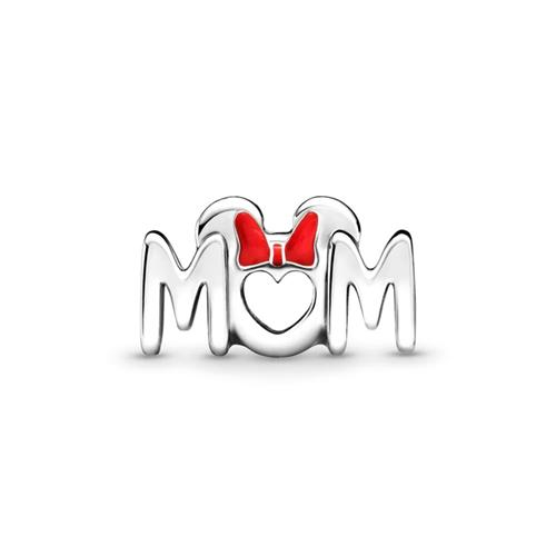 Charm Minnie Maus Schleife und Mum