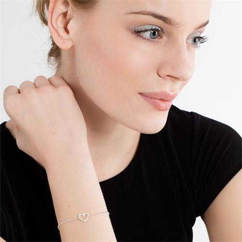 Armband Herz Sterlingsilber
