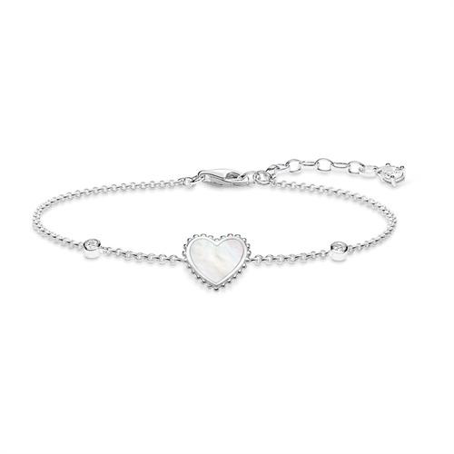 Armband Herz aus Sterlingsilber Zirkonia