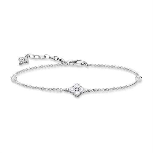 Armband Royalty Weiß aus 925er Silber mit Zirkonia