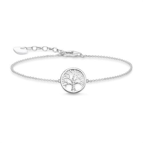 Tree Of Love Armband aus 925er Silber mit Zirkonia