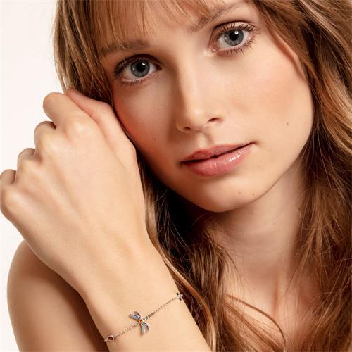 Armband Libelle aus 925er Sterlingsilber