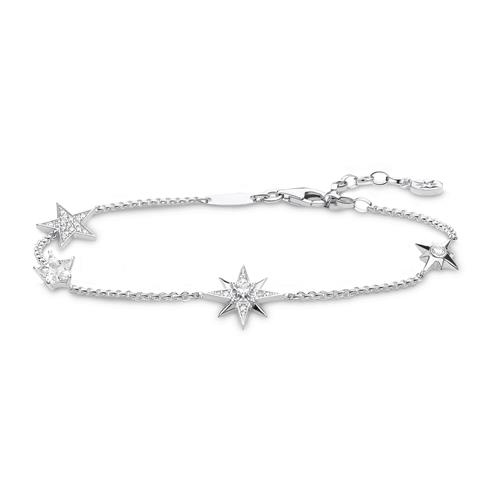 Armband Sterne für Damen aus Sterlingsilber Zirkonia