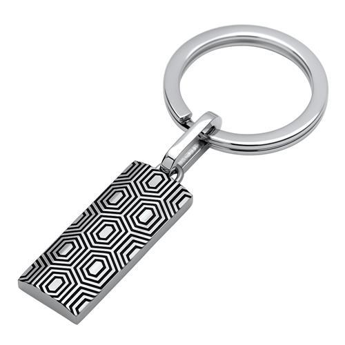Eleganter Schlüsselanhänger Edelstahl
