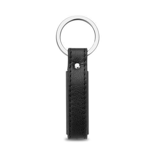 Schlüsselanhänger Leder und Edelstahl gravierbar