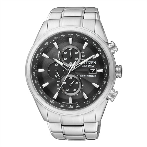Citizen Elegant Chronograph silber AT8011-55E