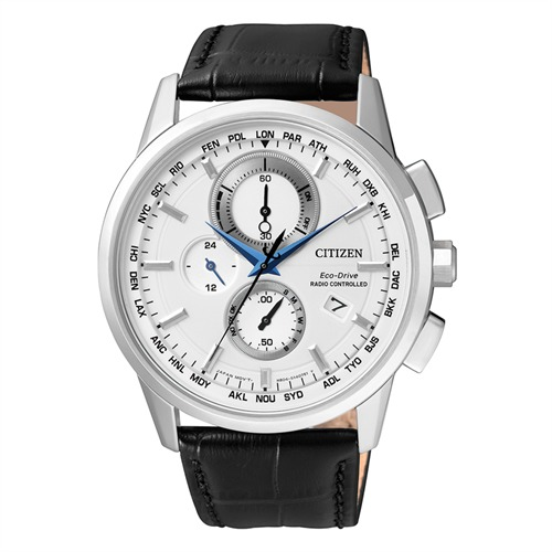 Citizen Elegant Herren Chronograph Leder AT8110-11A