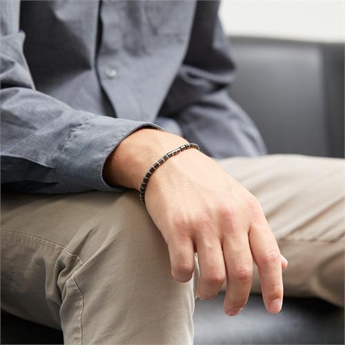 Armband aus Edelstahl glänzend IPB-beschichtet