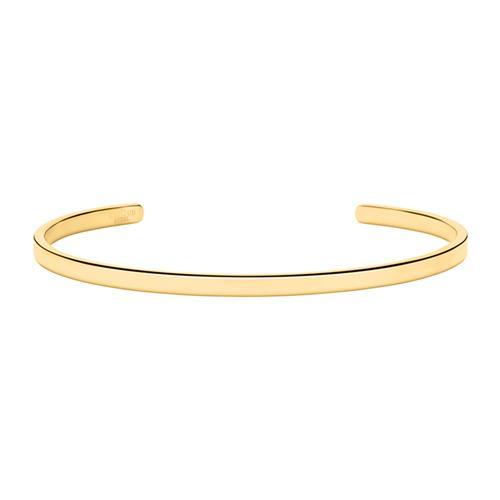 Armbaender für Frauen - Armreif aus vergoldetem Edelstahl gravierbar  - Onlineshop The Jeweller