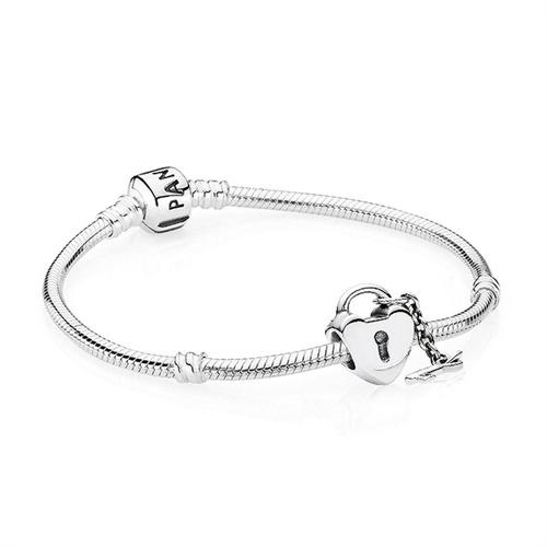 Set Armband und Charm 925er Silber