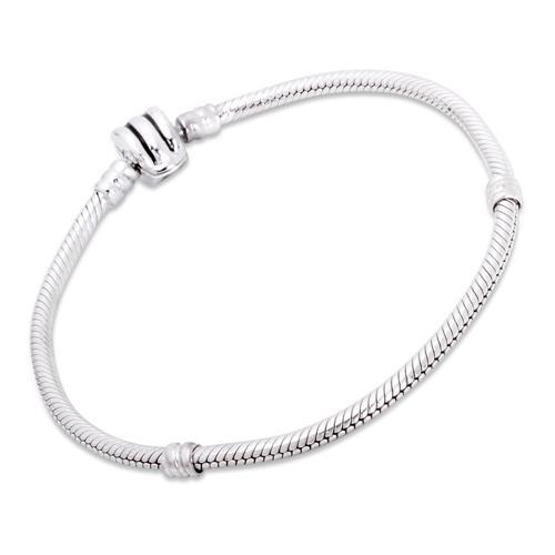 925 Silber Bead Armband Clip-Verschluss