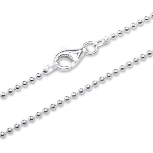 925 Silber Kugelkette 1,8mm