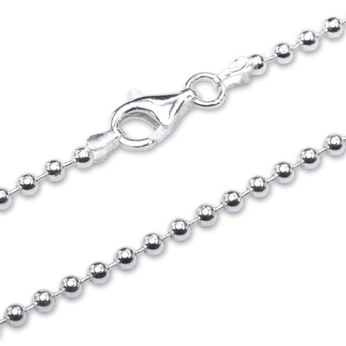 925 Silber Kugelkette 3,0mm