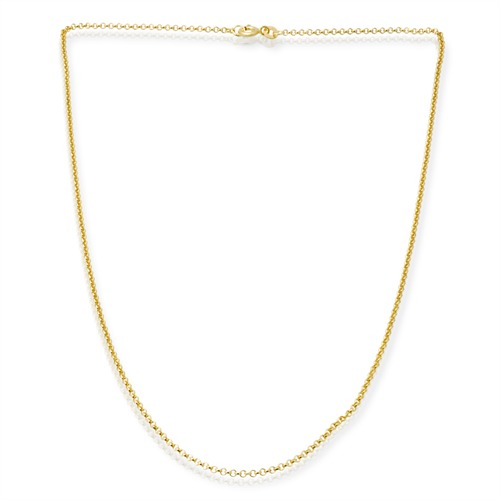 333er Goldkette: Ankerkette Gold 50cm
