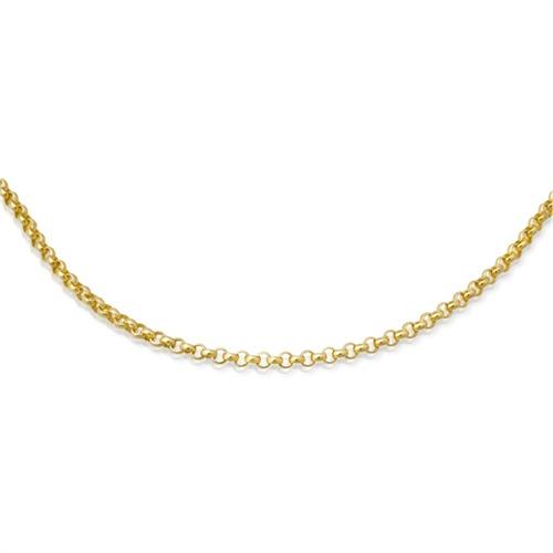 585er Goldkette: Ankerkette Gold 50cm