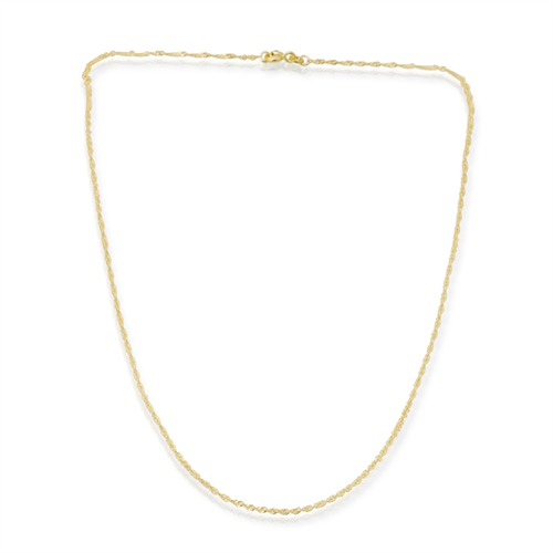 333er Goldkette: Singapurkette Gold 45cm