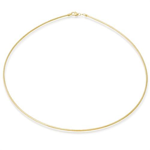 Ketten - 333er Goldkette Tondakette Gold 50cm  - Onlineshop The Jeweller