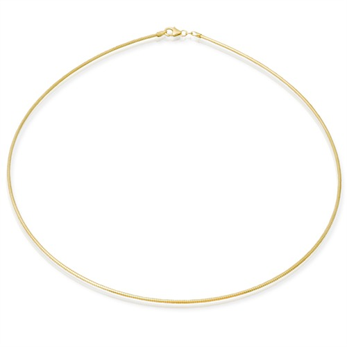 585er Goldkette: Tondakette Gold 50cm