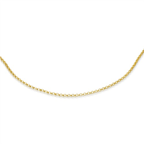 585er Goldkette: Ankerkette Gold 45cm