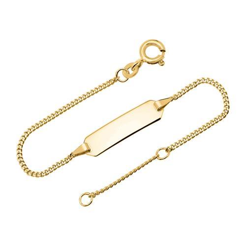 333er goldarmband id armband gold bin5009 14. Black Bedroom Furniture Sets. Home Design Ideas