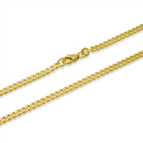 333er Goldarmband: Panzerarmband Gold 18,5cm